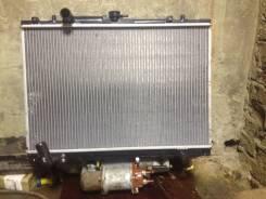 Радиатор охлаждения двигателя. Mitsubishi Pajero Sport Двигатель 3 0 MIVEC