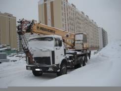 Ивановец. Автокран на базе МАЗ, 2011 г/в, 11 500 куб. см., 25 000 кг., 21 м.