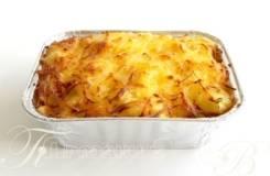 Картофель запеченный с сыром (Готовые обеды)
