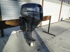 Yamaha. 25,00л.с., 4х тактный, бензин, нога L (508 мм), Год: 2006 год