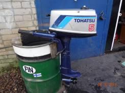 Tohatsu. 5,00л.с., 2х тактный, бензин, нога S (381 мм), Год: 1995 год