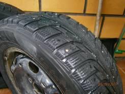 Hankook Winter i*Pike RS W419. Зимние, шипованные, износ: 40%, 4 шт