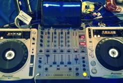 Dj оборудование CDJ 800 MK2-2ШТ+DJM600