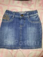 Юбки джинсовые. Рост: 86-98, 98-104, 104-110, 110-116 см