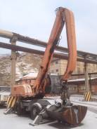 Твэкс ЕК-18. Колёсный экскаватор, 2 400 куб. см., 1,60куб. м.