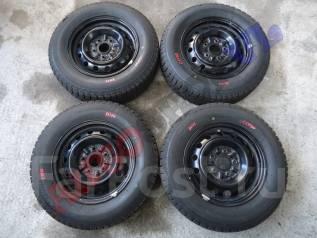 Штампованные диски с резиной Bridgestone Ice Partner. 5.5x14 5x114.30