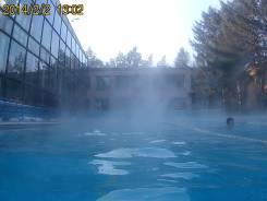 Тёплый бассейн под открытым небом + Изумрудная долина - 1400р.