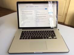 "Apple MacBook Pro 15 2012 Mid MC975 with Retina display. 15.4"", 2,3ГГц, ОЗУ 8192 МБ и больше, диск 256 Гб, WiFi, Bluetooth, аккумулятор на 8 ч."
