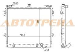 Радиатор охлаждения двигателя. Toyota Land Cruiser, URJ200 Двигатели: 3URFE, 1URFE, 2URFE