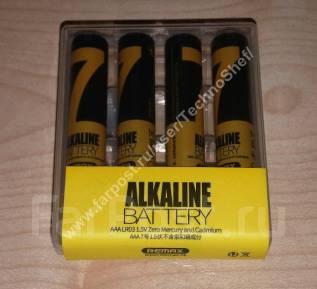 Батарейки мизинчиковые / ААА.