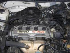 Двигатель. Toyota Sprinter, AE91 Двигатель 5AF
