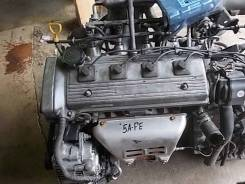 Двигатель. Toyota Corolla, AE100 Toyota Sprinter, AE100 Двигатель 5AFE