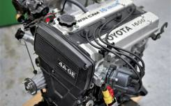 Двигатель. Toyota Corolla, AE101 Toyota Sprinter, AE101 Двигатель 4AGE