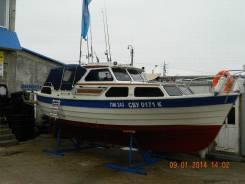 Продам парусно моторную яхту SAGA 27AK. Длина 9,00м., Год: 1986 год