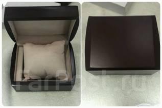 Подарочная коробочка для наручных часов, деревянная!
