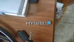 Эмблема. Toyota Harrier Hybrid, MHU38W Двигатель 3MZFE