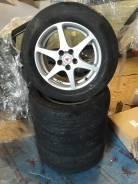 """Диски 15"""" TOM`S (Enkei) 5H PCD 100 с резиной Dunlop 205/60/R15. 6.0x15 5x100.00 ET39"""