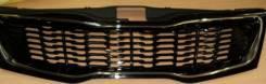 Решетка радиатора. Kia Rio, UB Двигатели: G4FC, G4FA
