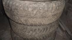 Зимние, шипованные шины с железными дисками. x15
