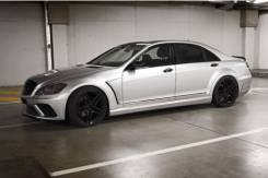 Обвес кузова аэродинамический. Mercedes-Benz S-Class, W221. Под заказ
