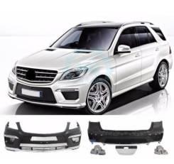 Обвес кузова аэродинамический. Mercedes-Benz GLE-Class, W166 Mercedes-Benz M-Class, W166 Mercedes-Benz GLE, W166. Под заказ