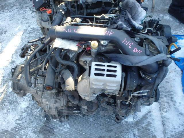 Двигатель Тойота 1N-T (1NT) 1.5 л турбо-дизель,67л. с