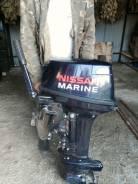 Nissan Marine NS18E2. 18,00л.с., 2х тактный, бензин, нога S (381 мм), Год: 2011 год