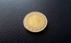 Египет. Сфинкс! 1 фунт. Биметалл.