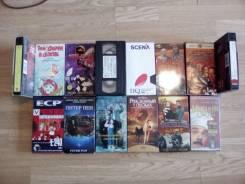 Видеокассеты для детей 17 штук.