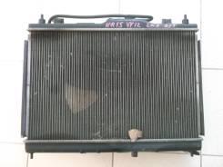 Радиатор охлаждения двигателя. Nissan AD Двигатель HR15DE