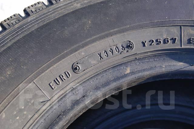 Dunlop DSV-01. Зимние, без шипов, 2006 год, износ: 10%, 2 шт