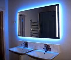 Зеркала с подсветкой, мебель для ванной, мебель на заказ, столешницы. Под заказ