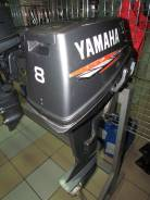 Yamaha. 8,00л.с., 2х тактный, бензин, нога S (381 мм), Год: 1994 год
