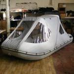 Тент ходовой трансформер для лодки 3,60 – 3,90 м