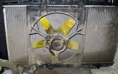 Вентилятор охлаждения радиатора. Nissan Primera, P10 Двигатели: GA16DE, SR20DE, GA16DS, SR20DI