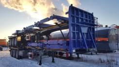 Cimc. Полуприцеп сортиментовоз лесовоз, 50 000 кг.