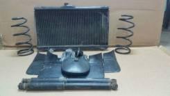 Радиатор охлаждения двигателя. Toyota Corolla Двигатели: 2C, 2CE, 2CIII