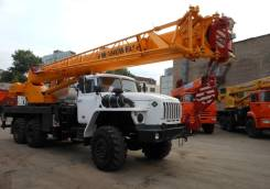Ивановец КС-45717К-1Р. Автокран КС-45717-1Р на шасси УРАЛ-4320, 6 700 куб. см., 25 000 кг., 31 м. Под заказ