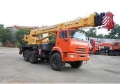"""Галичанин КС-55713-5В. Кран автомобильный 25 тонн КС-55713-5В """"Галичанин"""", 6 700 куб. см., 25 000 кг., 28 м."""
