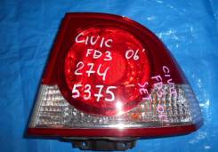 Стоп-сигнал. Honda Civic Hybrid, FD3, DAA-FD3 Honda Civic, DBA-FD2, DBA-FD1 Двигатели: R16A1, R18A1. Под заказ