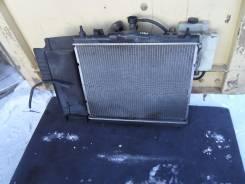 Радиатор охлаждения двигателя. Nissan Cube, BNZ11, YZ11, BZ11, z11, Z11 Двигатели: CR14DE, CR14