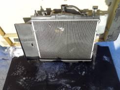 Радиатор охлаждения двигателя. Nissan March, K12 Двигатели: CR10DE, CR12