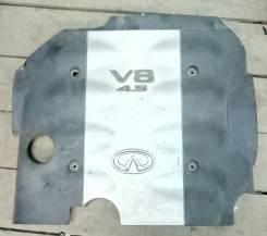 Защита двигателя пластиковая. Infiniti FX45, S50 Двигатель VK45DE
