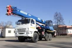 Клинцы КС-55713-5К-4. Автокран 25 тонн КС-55713-5К-4 Клинцы, 25 000 кг., 31 м.