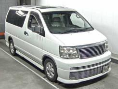Спойлер на заднее стекло. Nissan Elgrand, ATE50, APE50, AVWE50, AVE50, ALE50, APWE50, ALWE50, ATWE50