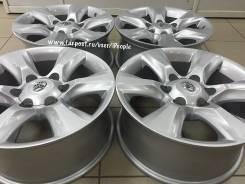 Toyota Land Cruiser Prado. 7.5x17, 6x139.70, ET30, ЦО 106,2мм.