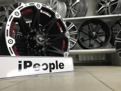 Wheel Power. 9.0x17, 6x139.70, ET-10, ЦО 110,0мм.