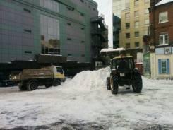 Уборка снега. Вывоз снега