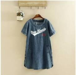 Платья джинсовые. 48, 50, 52, 54, 56, 58