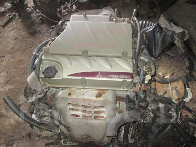 Контрактный двигатель Мицубиси 4G69 Mivec 2,4 л. бензин